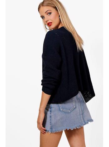 BOOHOO Krátký Oversized cardigan Ashley foto