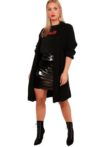 BOOHOO Pletený oversized kardigan HOLLY foto