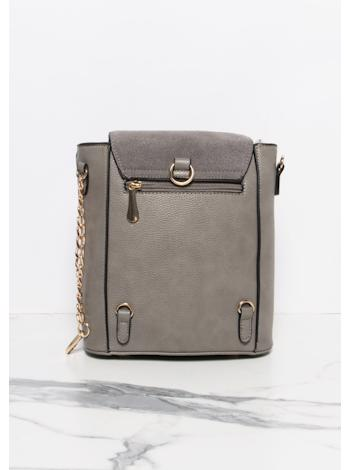 MISSY EMPIRE Ring detail crossbody kabelka Tilbury foto